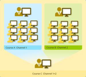 Multiple channels